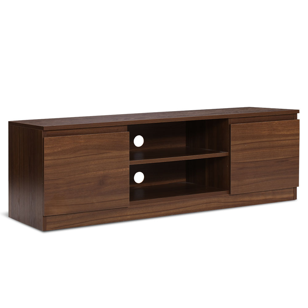 Oma Entertainment Unit TV Stand 120cm Walnut