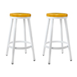 2 x Adam Stackable Bar Stools