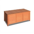 Nell Outdoor Storage Fir Wood Bench