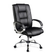 Kasie Black PU Leather Computer Chair