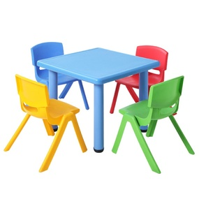 Kati Kids 5 Piece Table and Chair Set Blue