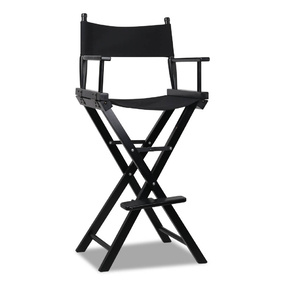 Alan Black Tall Director Chair